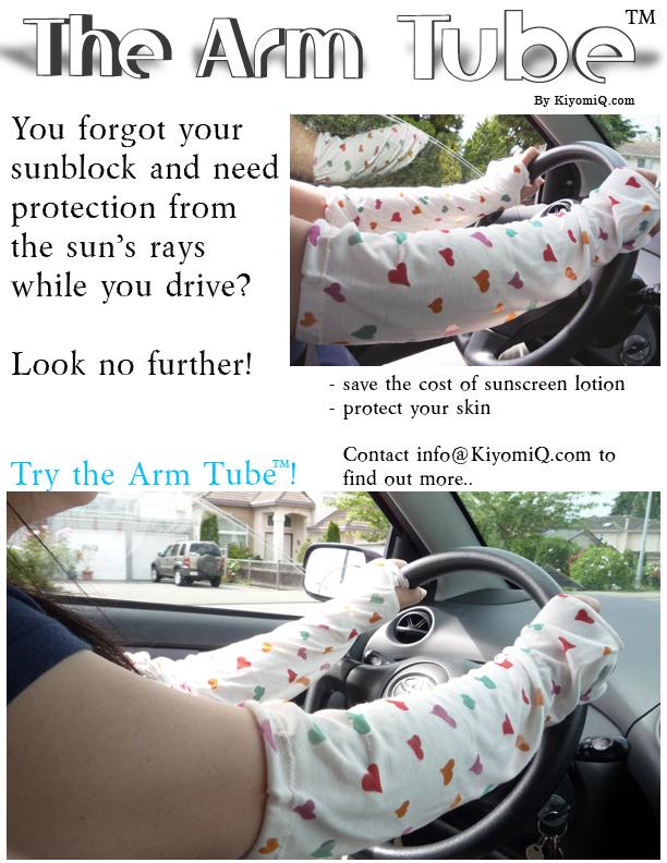 Arm Tubes by KiyomiQ.com