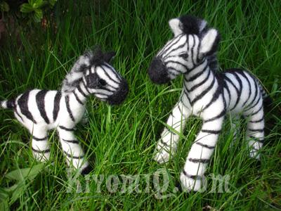 Felt Zebras