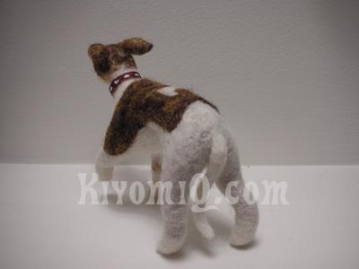 Custom Felt Dog