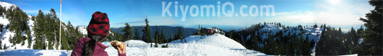 Panoramic View from Mt. Seymour