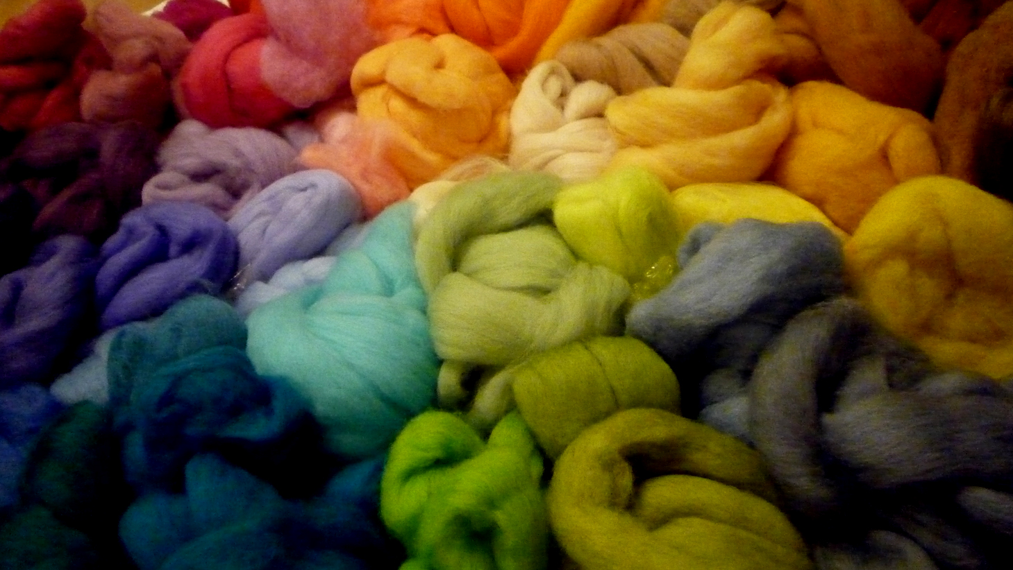 My wool collection! Isn't it nice?