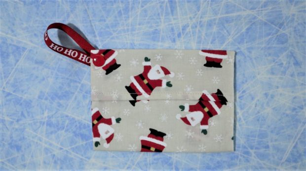 HO HO HO pouch for masks.