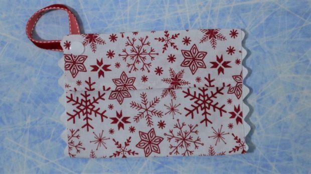 Snowflake pouch.