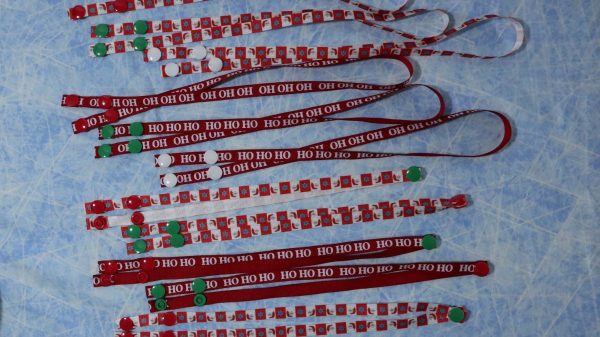 OH SNAP! We have assorted festive lanyards for you this holiday season.